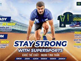 Điều gì khiến hơn 1.000 người đăng ký chạy Stay Strong With SuperSports chỉ sau 24 tiếng mở giải?